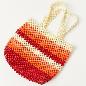 Handbags - 👏🆕👏 Beaded Beach Tote Bag in Multicolor